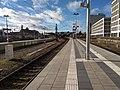 München, Bahnhof Donnersbergerbrücke, Gleis 1, 2 nach O 2018-01 (2).jpg
