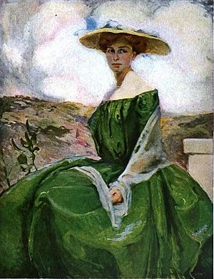 M. Jean McLane - M. Jean McLane, Girl in Green, by 1912