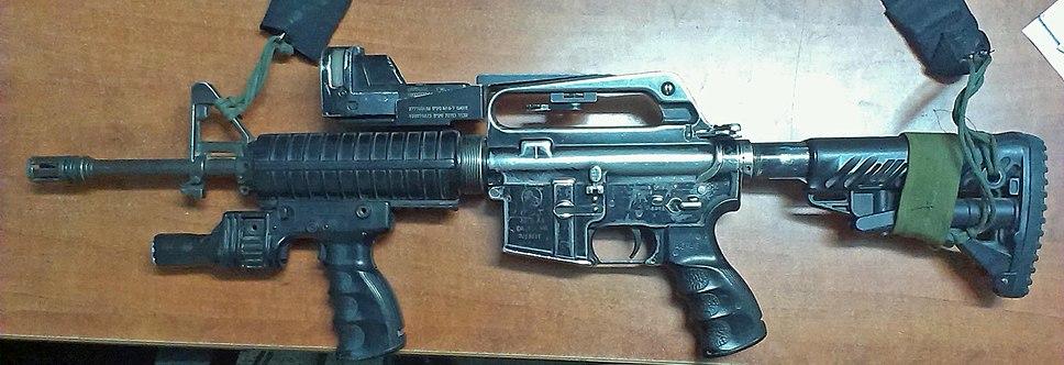 M16CarbineOfIDF-Reflexsight1
