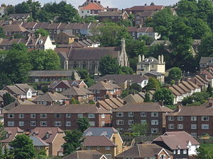 Borstal, Rochester - Image: M2Bridge 5473