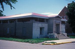 National Register of Historic Places listings in Walworth County, South Dakota - Image: MOBRIDGE MASONIC TEMPLE