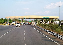 NH7 Omalur Tollplaza near Salem