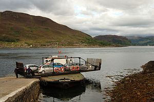 MV Glenachulish - MV Glenachulish at Kylerhea