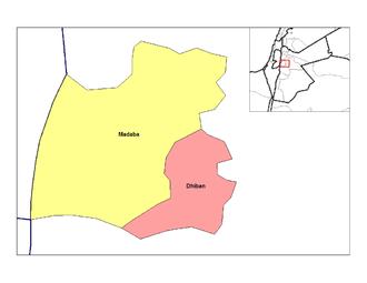 Nahias of Jordan - Nahias of Madaba