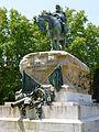 Madrid - Parque del Retiro, Monumento al General Arsenio Martínez-Campos 2.JPG