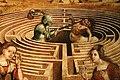 Maestro dei cassoni campana, teseo e il minotauro, 1510-15 ca. (avignone, petit palais) 11 labirinto e centauro.jpg