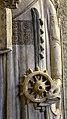 Maestro di sant'anastasia, santa caterina d'alessandria, 1300-50 ca., da santa caterina a vr 05 palma e ruota.jpg