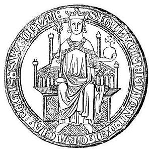 Magnus III of Sweden - Seal of King Magnus