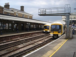 Maidstone West railway station - Image: Maidstone West Station 02