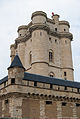 Main tower of the castle in Vincennes, August 2013.jpg