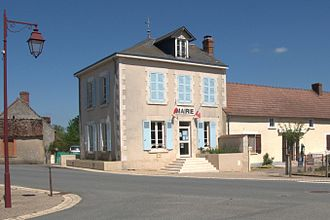 Bonneuil, Indre - The town hall in Bonneuil