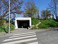 Malá Chuchle, podchod pod Strakonickou, z ulice Podjezd.jpg