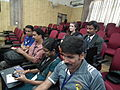 Malayalam wikipedians in wci2011 9289.JPG