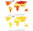 Male and female suicide rates by country (2015 age-standardized).png