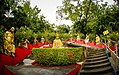 Man Fat Tsz (Ten Thousand Buddhas Monastery) , stairs at the west entrance, Sha Tin (Hong Kong).jpg