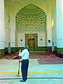 Man sweep front of iwan of Kashmar grand mosque(Edited).jpg