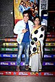 Manurishi Chadha and Sunita Rajwar at the special screening of Shubh Mangal Zyada Saavdhan.jpg