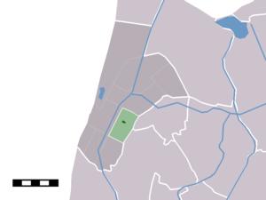 Sint Maartensbrug - Image: Map NL Zijpe Sint Maartensbrug