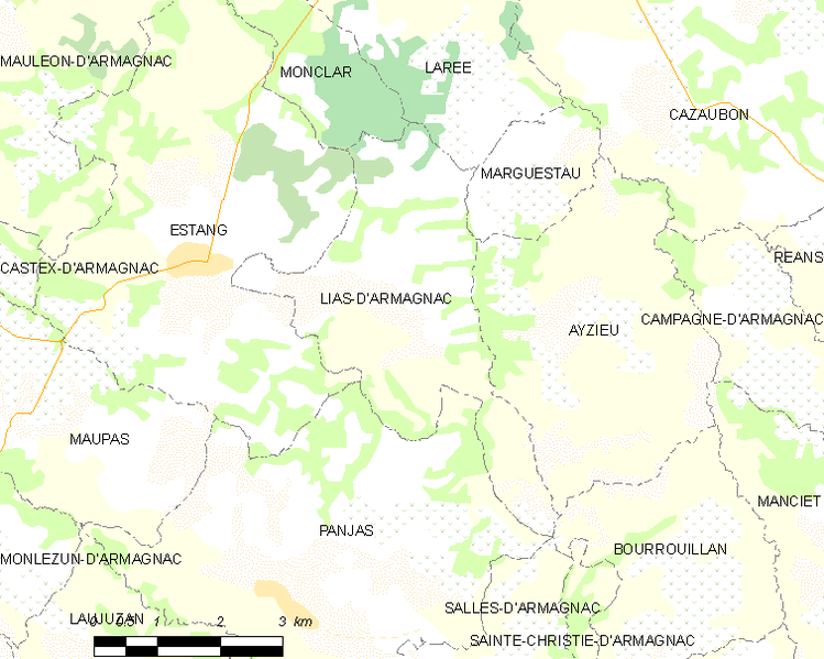 File:Map commune FR insee code 32211.png