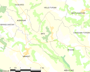 Map commune FR insee code 40029.png