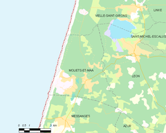 Map commune FR insee code 40187.png