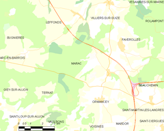 Map commune FR insee code 52307.png