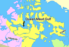 Map indicating Queen Maud Gulf, Nunavut, Canada.png