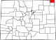 Map of Colorado highlighting Sedgwick County.svg