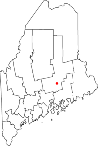 Map of Maine highlighting Old Town.png