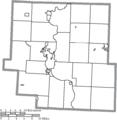 Map of Muskingum County, Ohio No Text, Municipalities Distinct.png