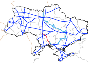 Map of Ukraine Autowegen M23.png