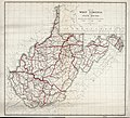 Map of West Virginia showing state routes LOC 91681295.jpg
