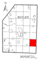 Map of Winfield Township, Butler County, Pennsylvania Highlighted.png