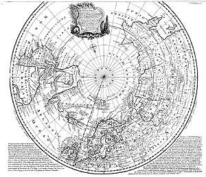 "Arctic Ocean - Emanuel Bowen's 1780s map of the Arctic features a ""Northern Ocean""."