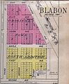 Map showing the plat of Blabon, Steele County, North Dakota.jpg