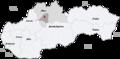 Map slovakia martin.png