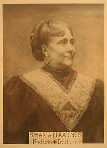 portrait of Maria Deraismes