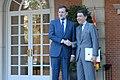 Mariano Rajoy recibe al presidente de la Comunidad de Madrid. Pool Moncloa. 15 de octubre de 2012).jpeg