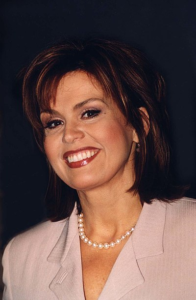 Marie Osmond, American singer and member of the Osmond show business family