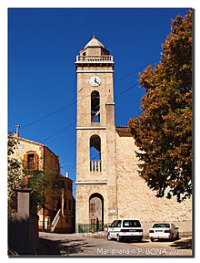 Carte Corse Marignana.Marignana Wikipedia