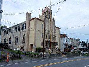 Blythe Township, Schuylkill County, Pennsylvania - Market Street (U.S. Route 209) in Cumbola.