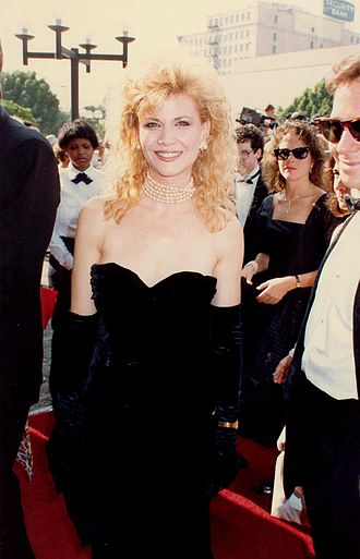 Markie Post - Post at the 1988 Emmy Awards