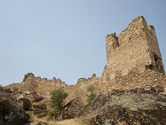 "Prince Marko - Remains of Marko's fortress above Prilep, known as Markovi Kuli (""Marko's towers"")"