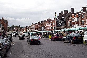 Marlborough, Wiltshire - Marlborough Market