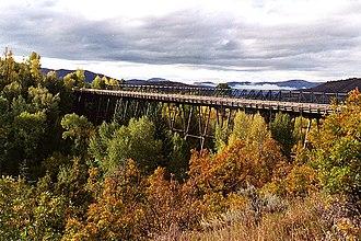 Maroon Creek Bridge - Image: Maroon Creek Bridge