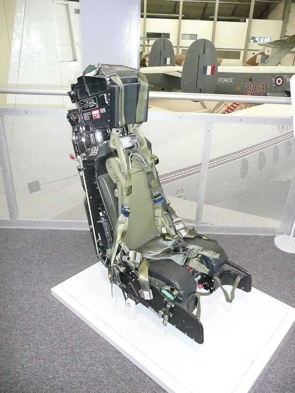 Martin-Baker Ejection Seat Mk 9B