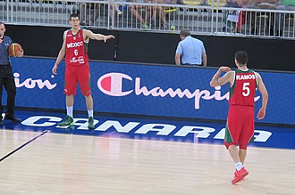 Mexico national basketball team - Román Martínez and Marco Ramos helped Mexico secure the gold medal at the 2014 Centrobasket
