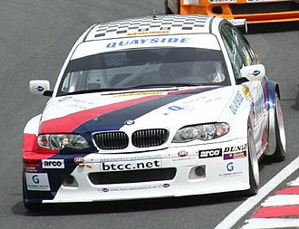 Martyn Bell - Bell driving at the Oulton Park round of the 2006 British Touring Car Championship.