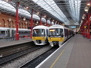 Chiltern Railways - Class 165 Turbos at Chiltern Railways's main London terminus, Marylebone