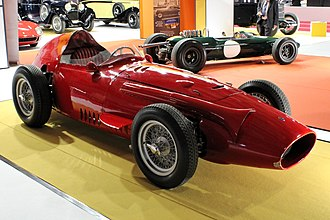 Maserati 250F - Maserati 250F at the 2018 Paris Motor Show